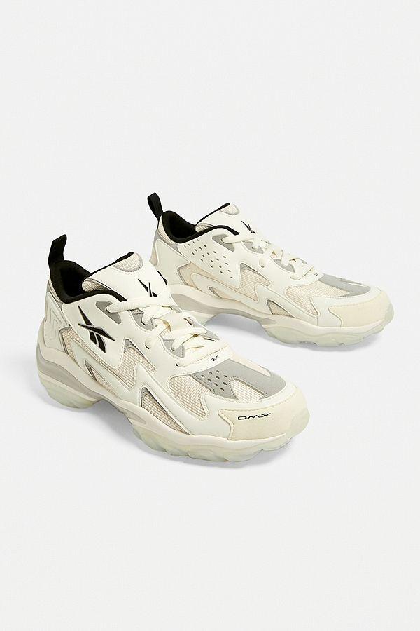 8b5f986448c54 Slide View  1  Reebok DMX Series 1600 White Trainers