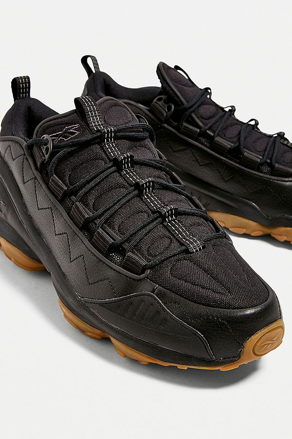6102015621 Reebok DMX 10 Black Gum Sole Trainers