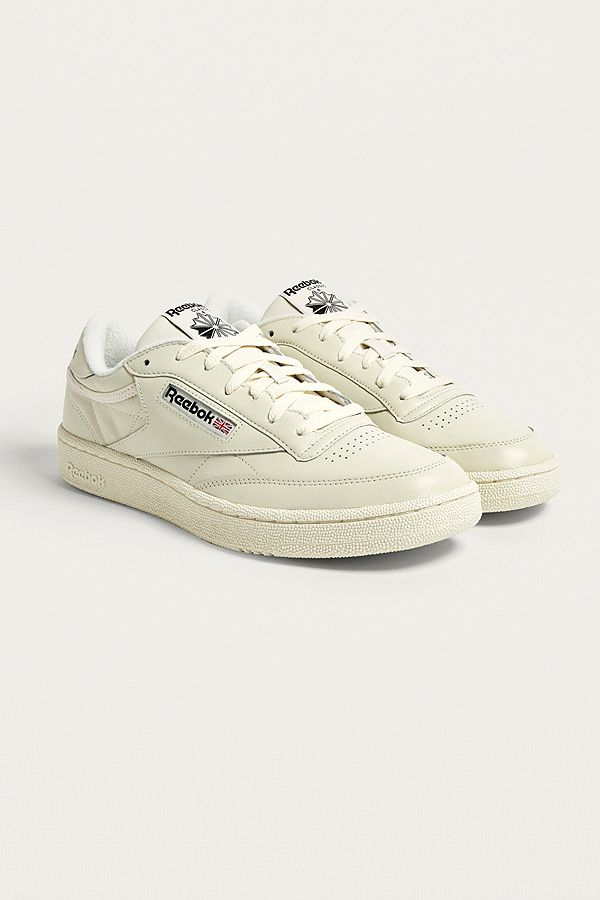 29f79a2c Reebok Club C 85 Chalk Trainers | Urban Outfitters UK