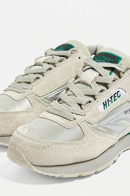 bfe483fc52cf Hi-Tec Silver Shadow Grey Trainers