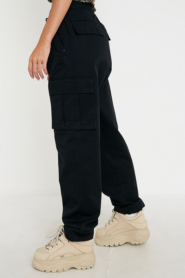 Slide View: 2: Urban Renewal Salvaged Deadstock Drawstring Cargo Trousers