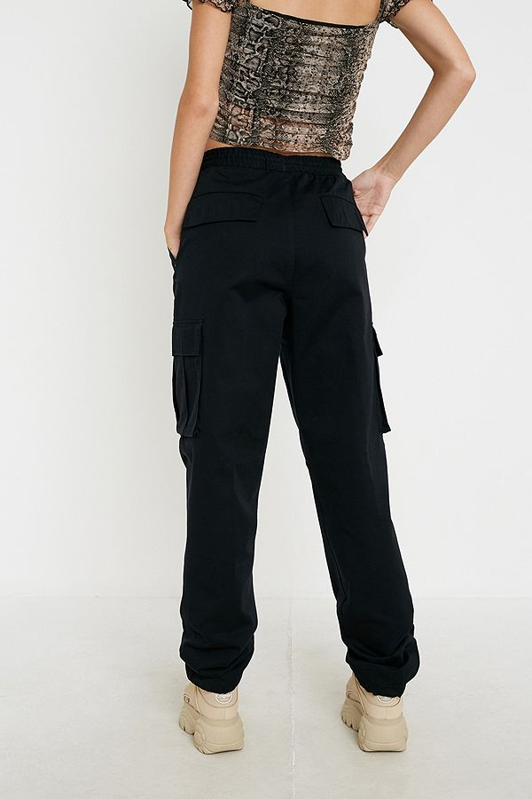 Slide View: 3: Urban Renewal Salvaged Deadstock Drawstring Cargo Trousers