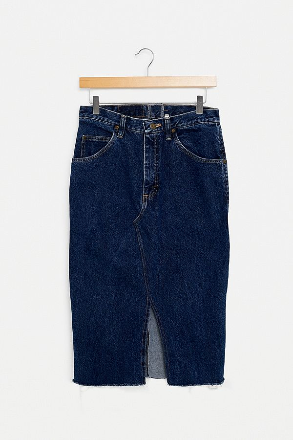 d5a59e01 Urban Renewal Vintage Denim Midi Skirt | Urban Outfitters UK