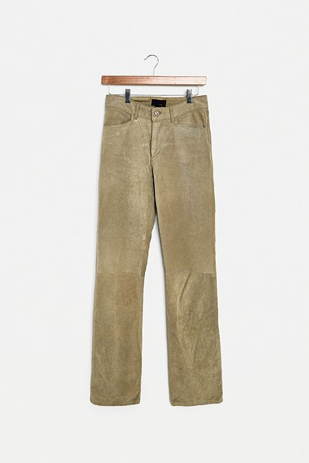 a3d02b7ec0d9 Urban Renewal One-of-a-Kind Leather Straight Trousers
