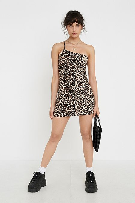 dc9182e5b2 Urban Renewal Remnants Leopard Helena Dress
