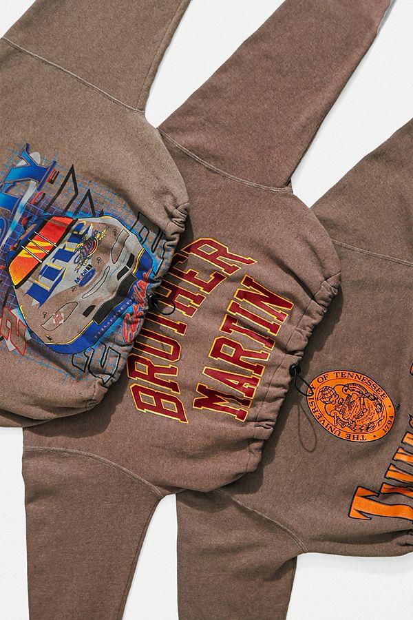 Urban RenewalRe Made From Vintage– Sportliches Sweatshirt In Feige Mit Gummizug by Urban Renewal Shoppen