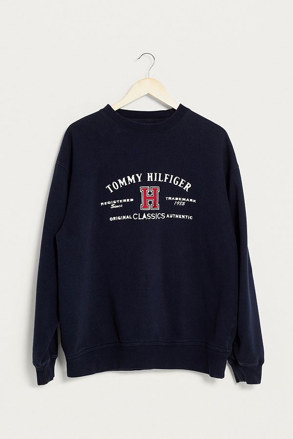 5b196409 Urban Renewal Vintage One-of-a-Kind Tommy Hilfiger Spell Out Logo ...