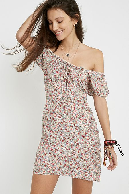 ee94a872dfda1b Urban Renewal Remnants Courtney Floral Mini Dress