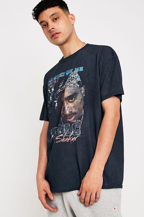 Urban Renewal Made From Remnants Tupac T-Shirt
