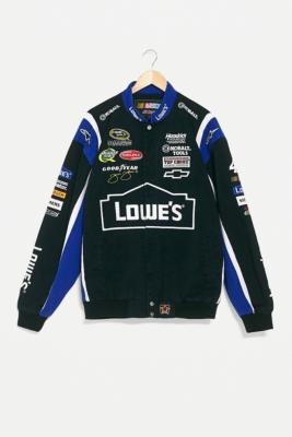 Urban Renewal One Of A Kind Lowe S Nascar Racing Jacket Urban Outfitters Uk