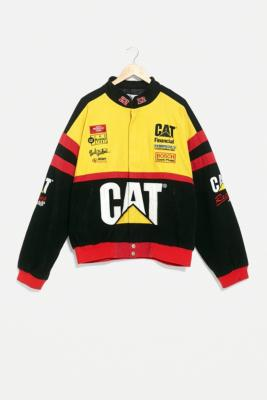 Urban Renewal One Of A Kind Cat Nascar Racing Jacket Urban Outfitters Uk