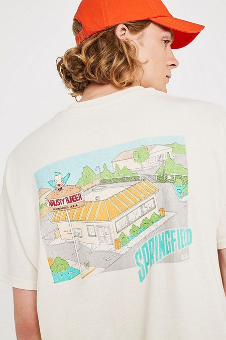 ede91dacbaeb53 Urban Renewal Vintage Remnants Krusty Burger T-Shirt