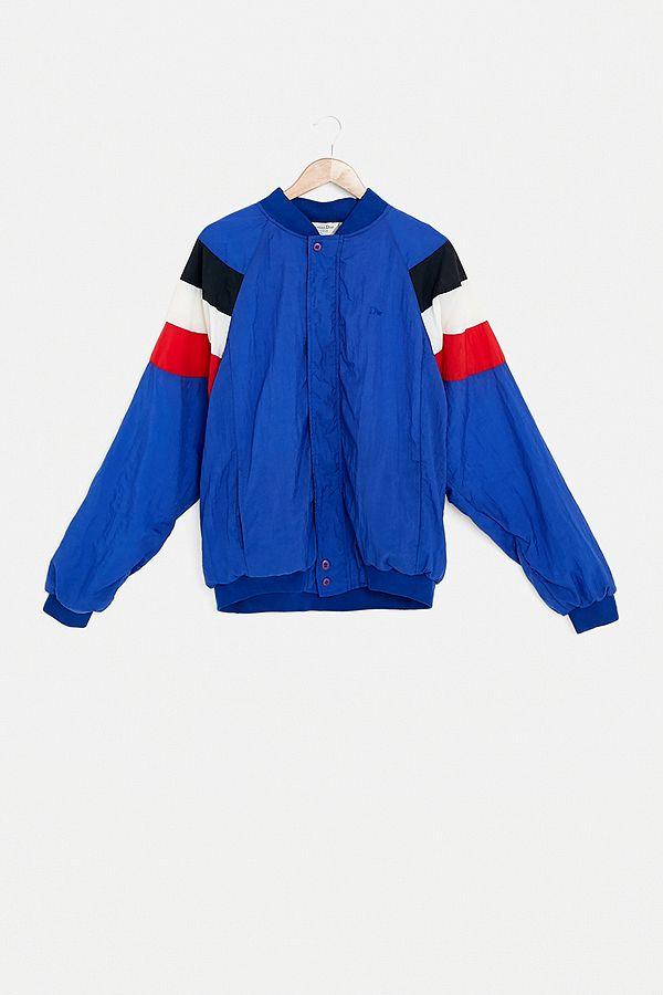 Urban Renewal One-Of-A-Kind Christian Dior Blue Shell Jacket