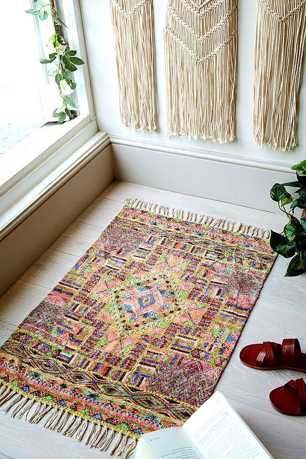 Carmita Printed Chenille 2x3 Rug by Urban Outfitters