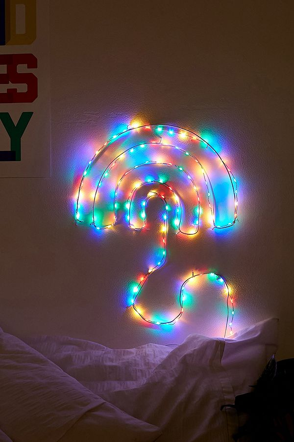 Slide View 1 Make Your Own Rainbow Fairy Light Sign