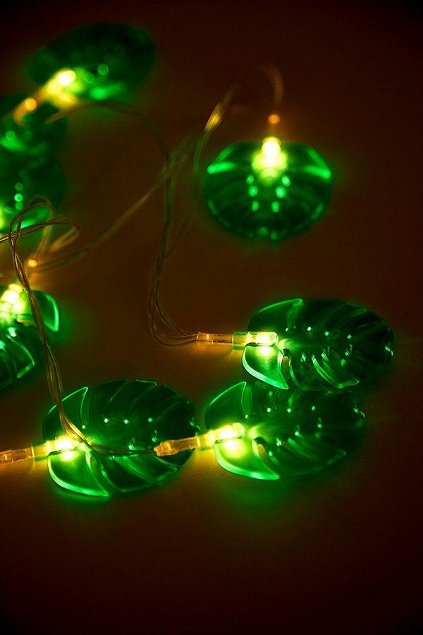 cheap for discount 9a13e 30c37 Monstera Leaf Fairy Lights
