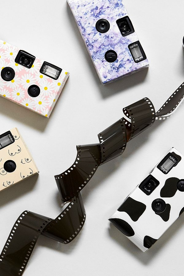 Slide View: 1: UO Marble Single Use Disposable Camera