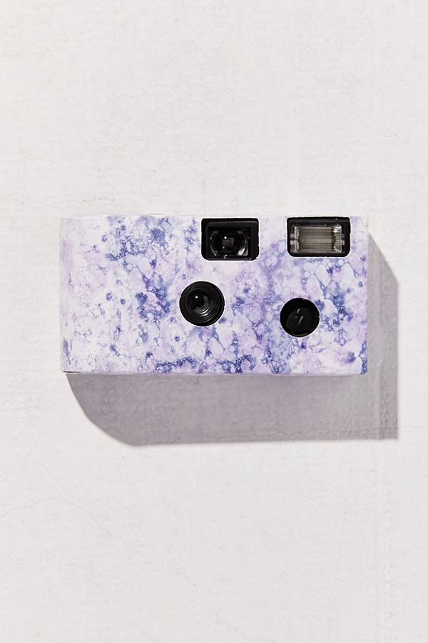 Slide View: 2: UO Marble Single Use Disposable Camera