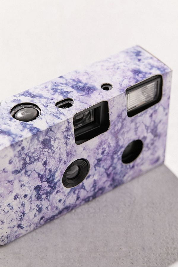 Slide View: 3: UO Marble Single Use Disposable Camera