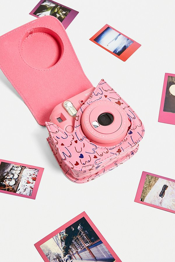 Slide View: 2: Fujifilm Instax™ Mini 9 CoppaFeel! Instant Camera Bundle