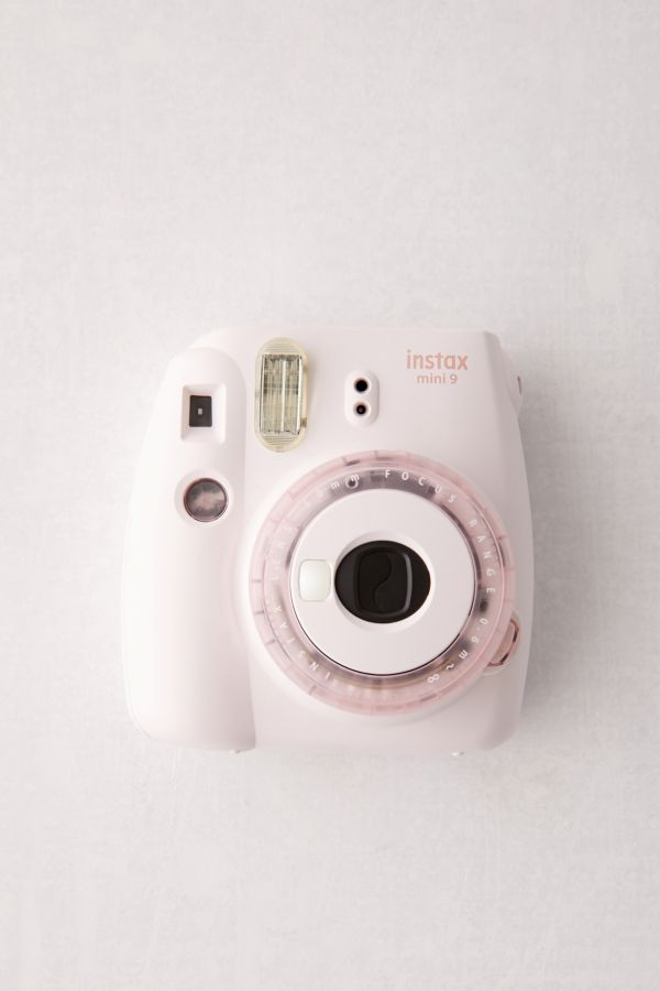 Slide View: 1: Fujifilm UO Exclusive Instax Mini 9 Clear Pink Instant Camera