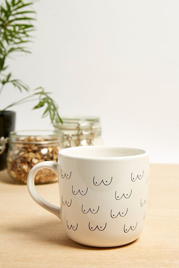 info for 025b8 91350 Boob Pattern Mug