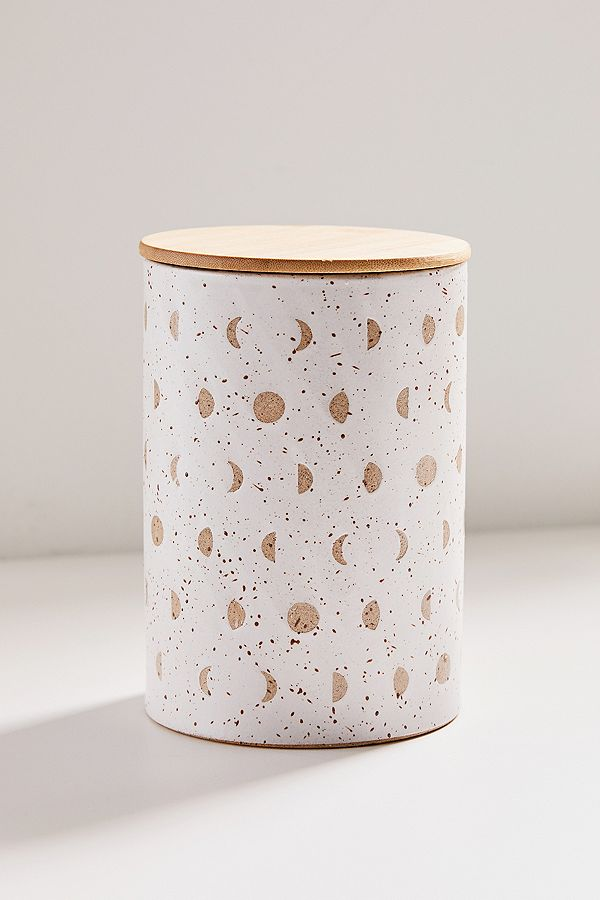 Ivy Large Ceramic Canister by Urban Outfitters