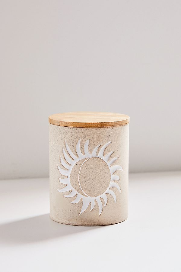 Ivy Medium Ceramic Canister by Urban Outfitters