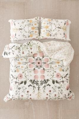 Daniella Floral Bedspread by Urban Outfitters