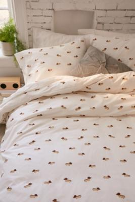 Sausage Dog Duvet Cover Set Urban Outfitters Uk