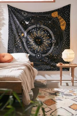 Shooting Star Printed Tapestry   Urban Outfitters ...
