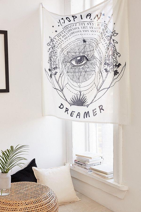 Utopian Dreamer Wall Hanging Urban Outfitters De