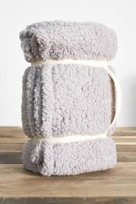 Amped Fleece Cosy Throw Blanket by Urban Outfitters