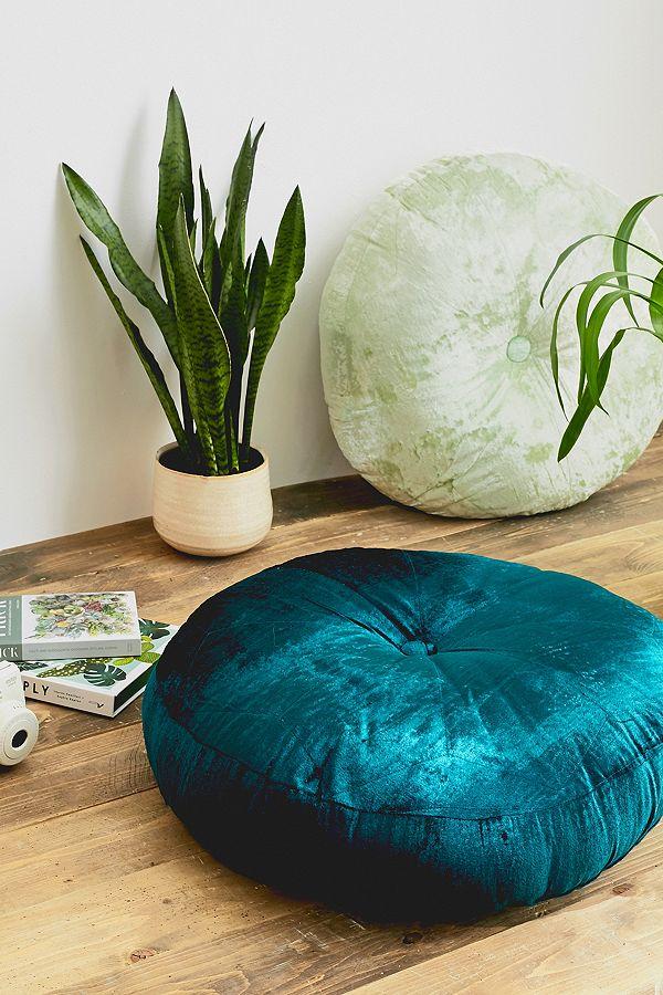 Amaya Velvet Floor Cushion