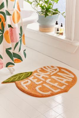 Peachy Clean Bath Mat by Urban Outfitters