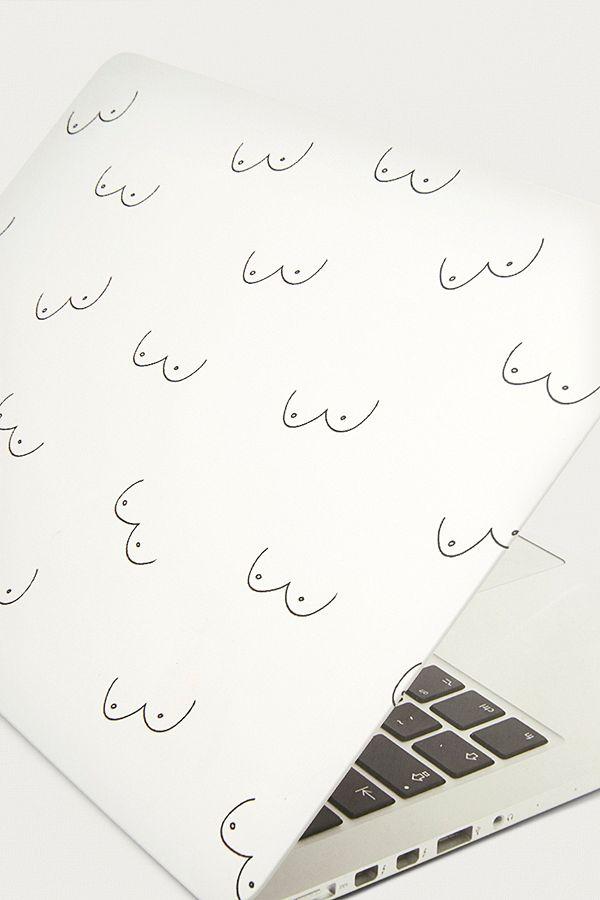 best service 0947d a0626 Boob Print Macbook Pro Retina Cover