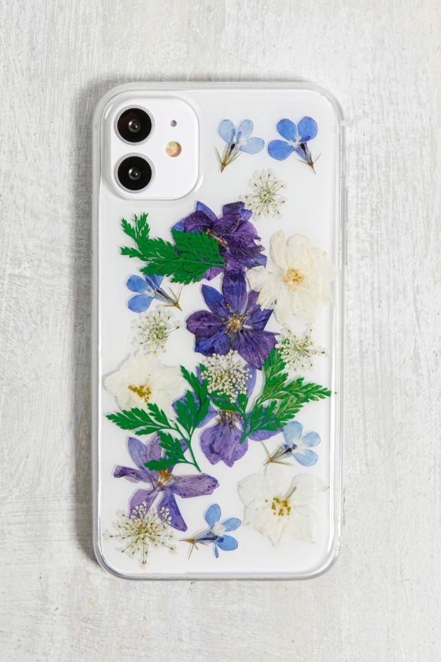 Coque pour iPhone 11 motif fleurs séchées