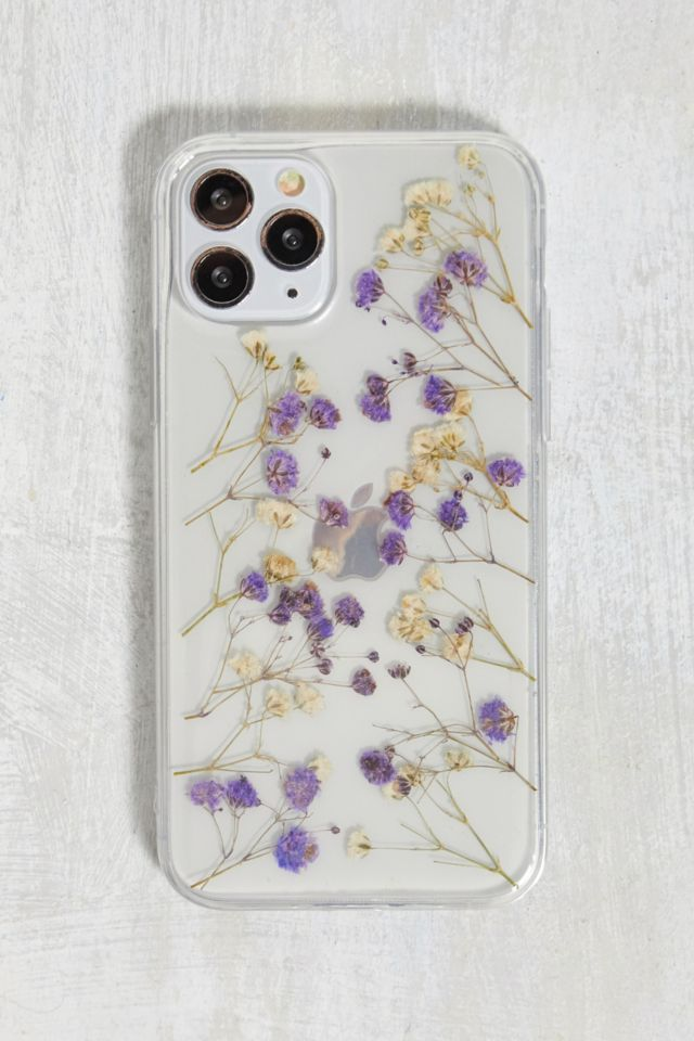 Ditsy Lilac Flower iPhone 11 Pro Phone Case