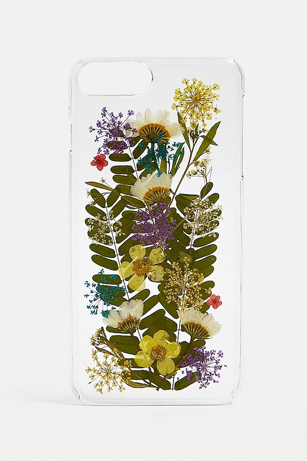 competitive price 9da69 ddb21 Pressed Flowers iPhone 6/7/8 Plus Phone Case