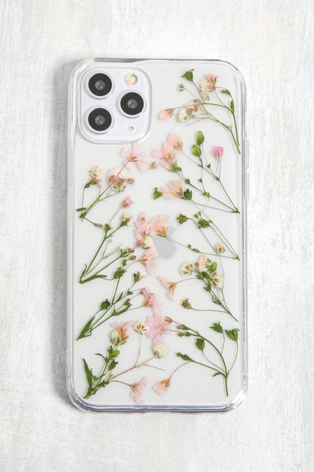 Coque pour iPhone Pro 11 fleurs séchées Ditsy