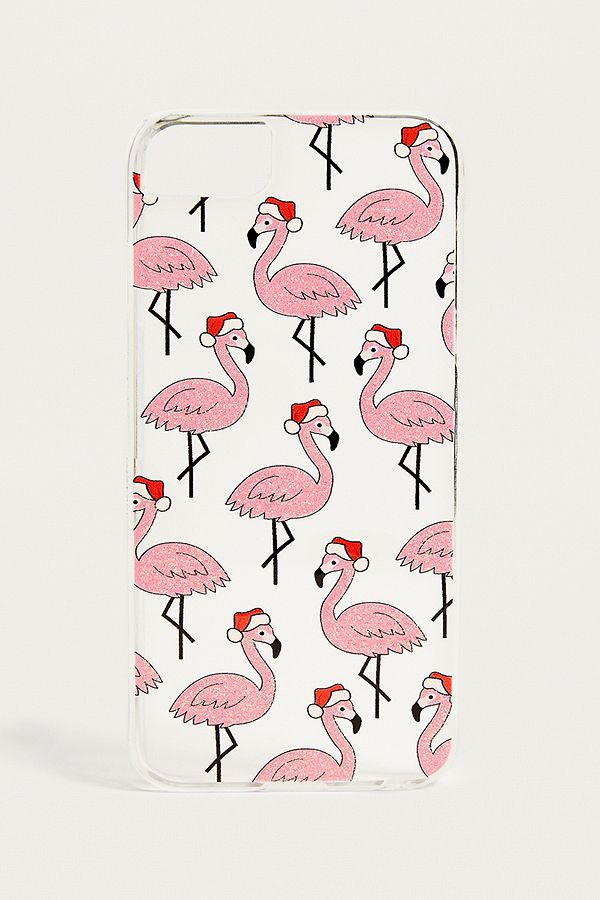 buy popular a5f70 eea88 Skinnydip Christmas Flamingo iPhone 6/7/8 Case