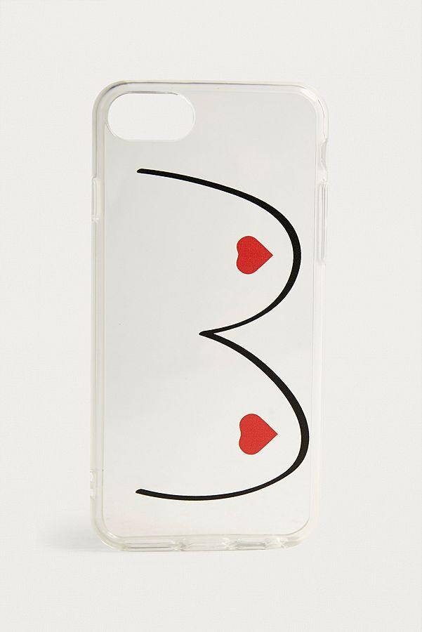 outlet store de677 e5b7c Heart Boobs iPhone 6/7/8 Case