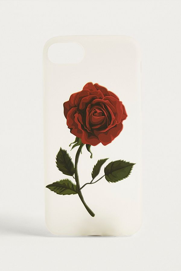 brand new f301e d0c63 Red Rose iPhone 6/6s/7/8 Case
