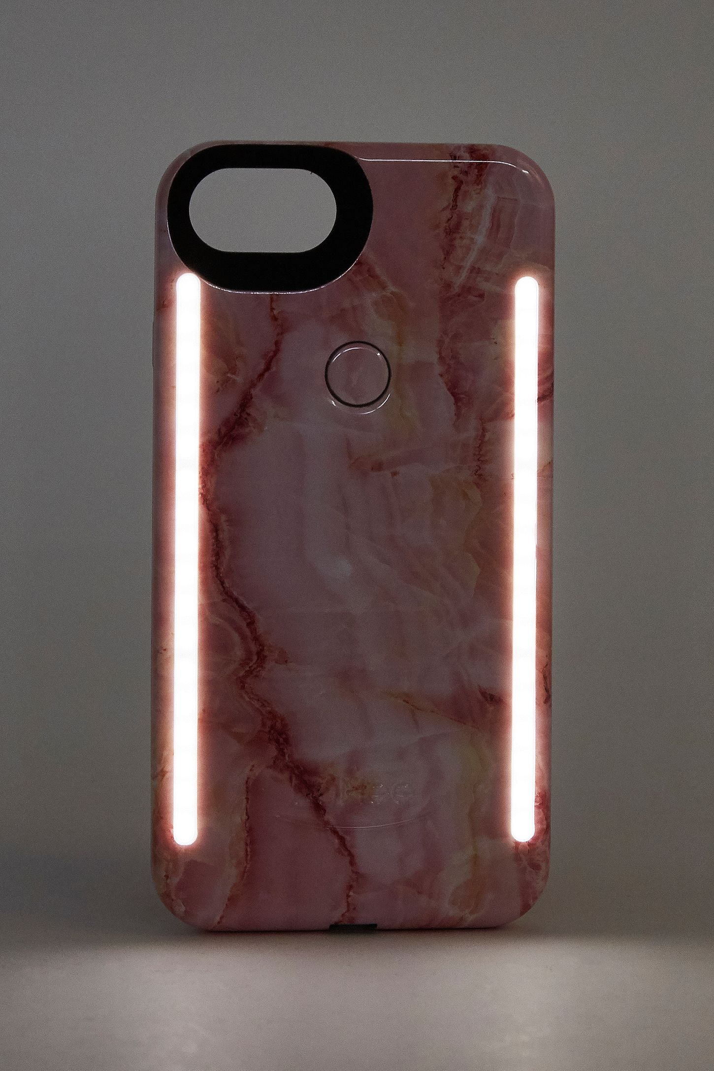 detailed look 70f12 cba64 LuMee Duo Pink Marble iPhone 6/6s/7/8 Case