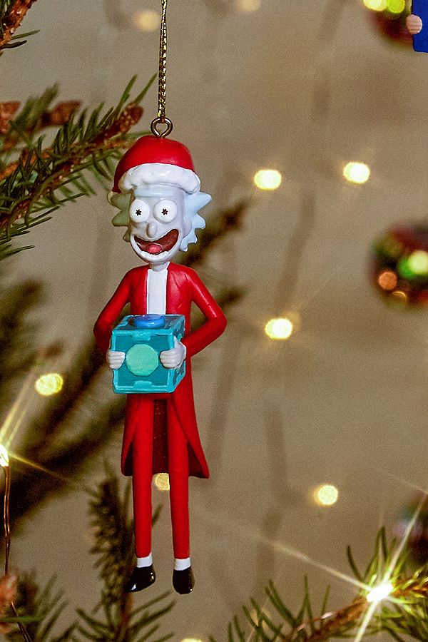 Rick And Morty Christmas.Rick And Morty Christmas Ornament