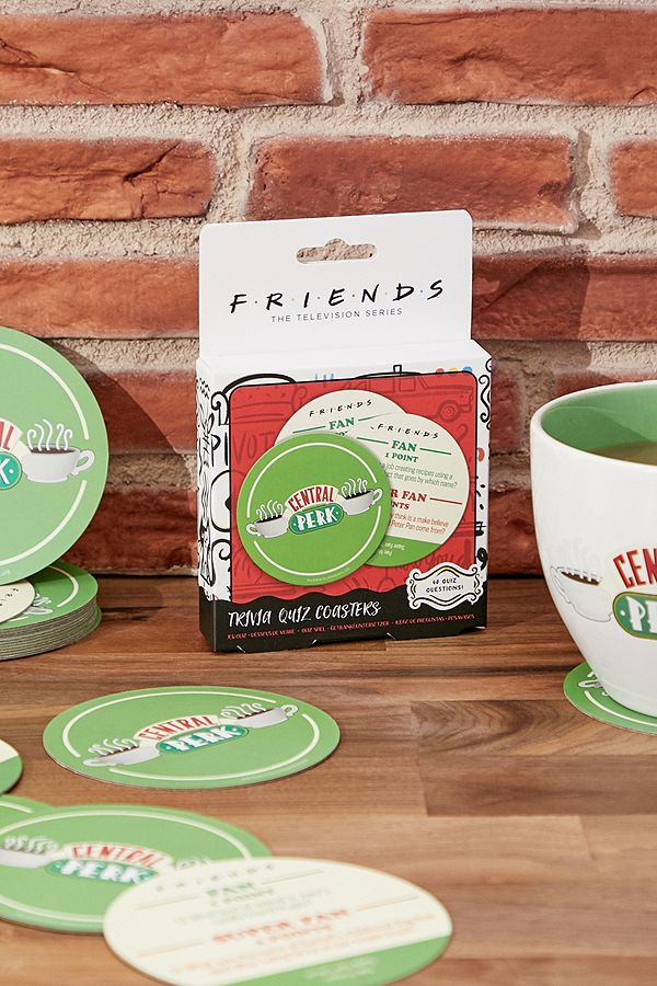 Paladone Friends Central Perk Trivia Quiz Coasters