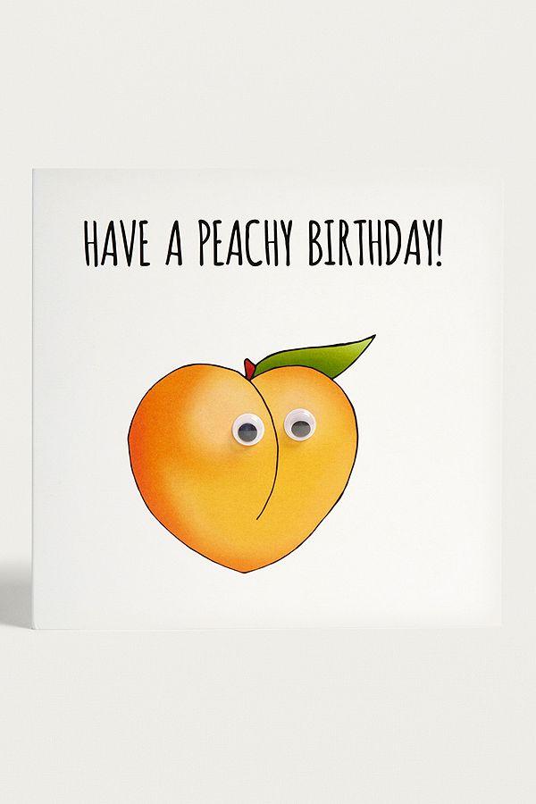 Have A Peachy Birthday Card