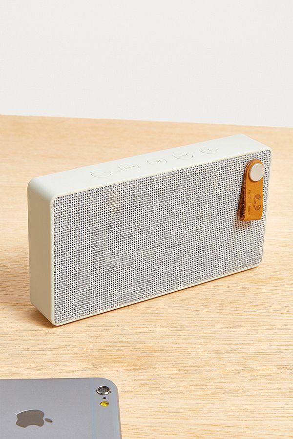 Fresh 'N Rebel Rockbox Slice Cloud Grey Fabriq Speaker