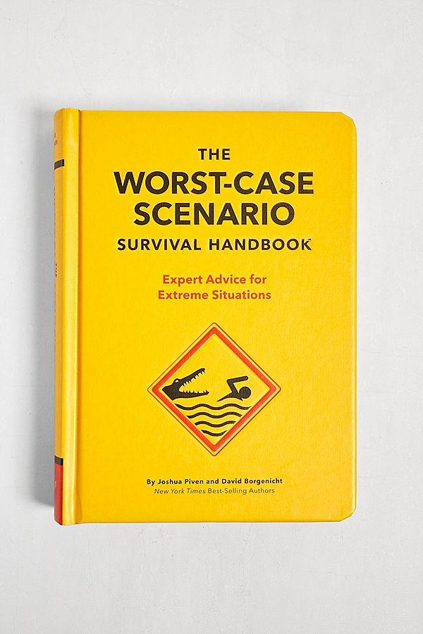 The Worst Case Scenario Survival Handbook By David Borgenicht & Joshua Piven by Urban Outfitters