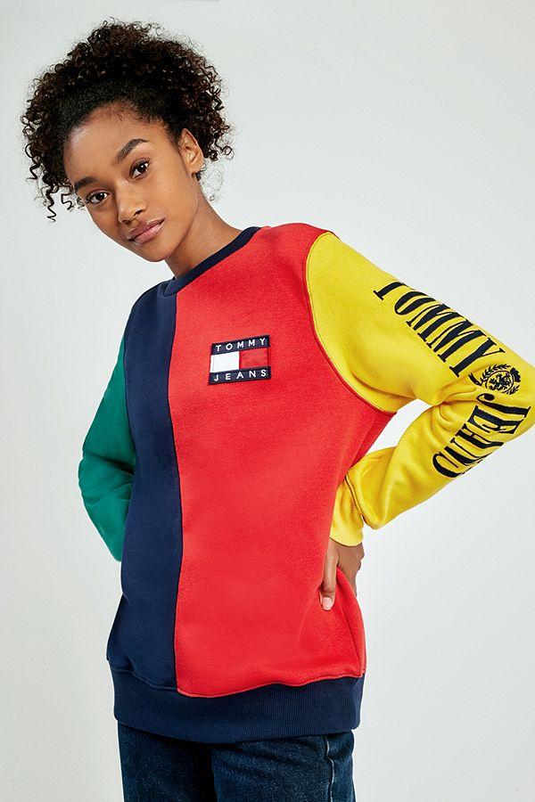 preiswert kaufen günstig speziell für Schuh Tommy Jeans '90s Colour-Blocked Sweatshirt